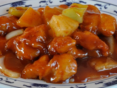 Chicken in Sweet & Sour Sauce