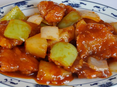 Pike Perch in Sweet & Sour Sauce